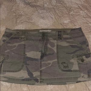 Abercrombie & Fitch camp cargo skirt